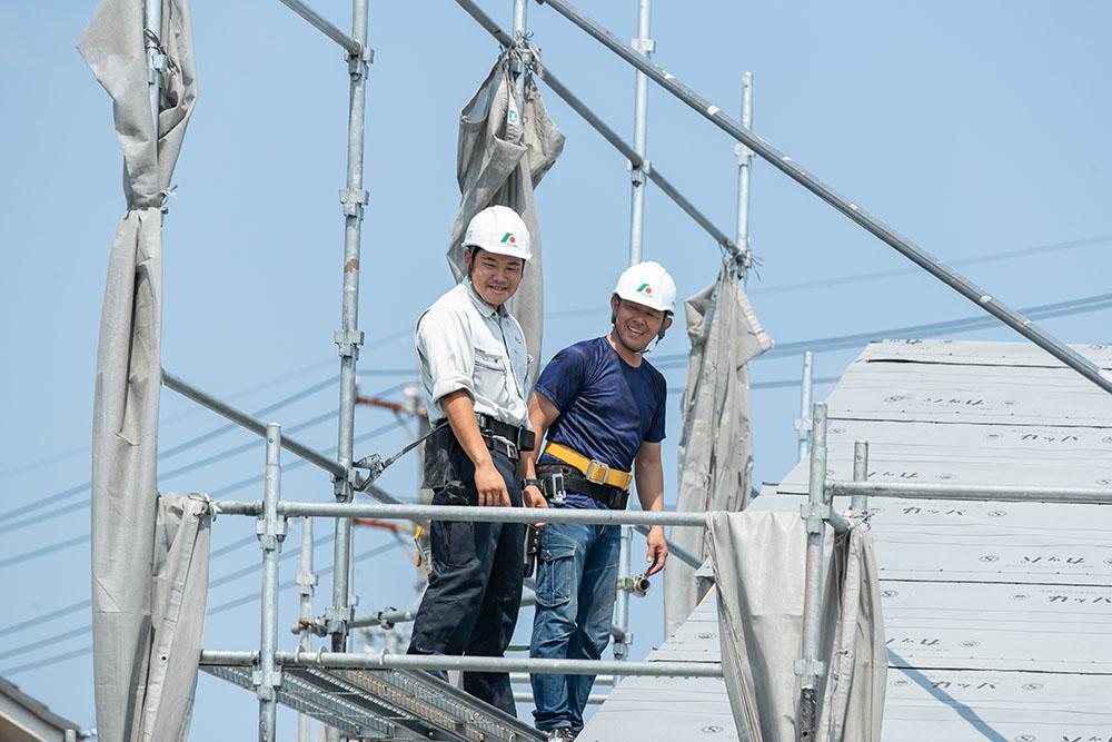 高技術の職人集団×現場の施工管理力