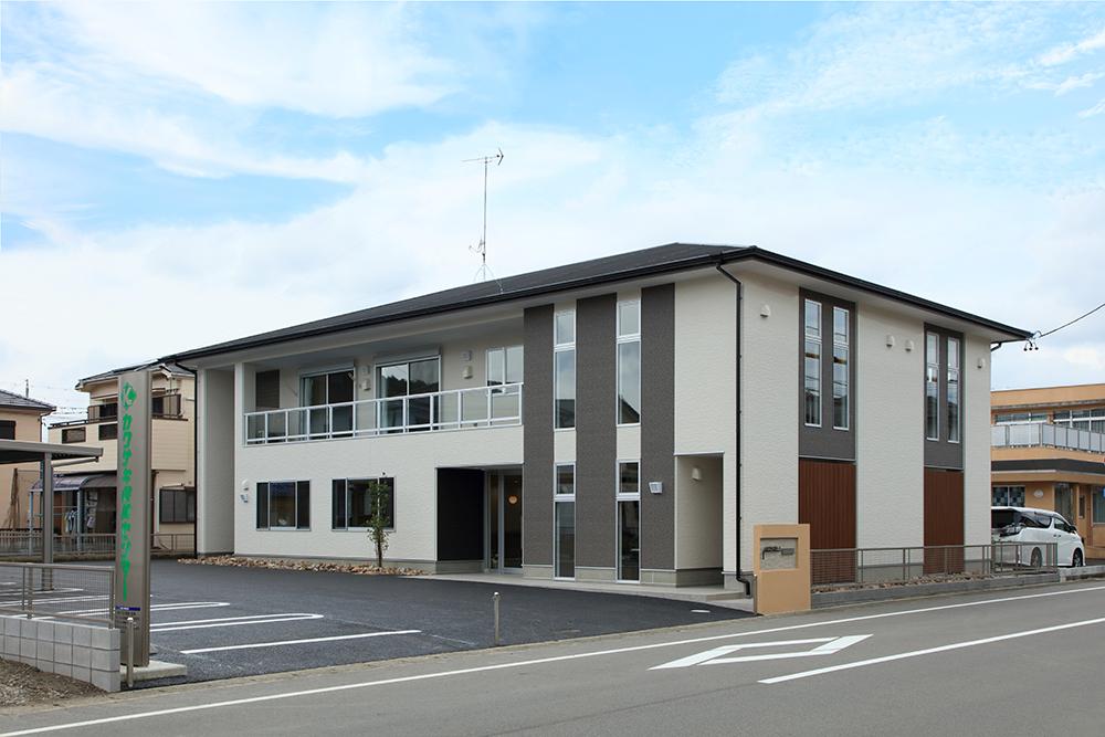 保険会社事務所の新築工事