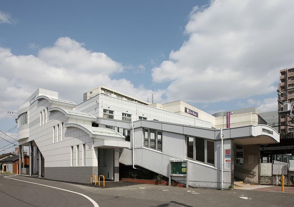 西春駅東西連絡橋エスカレーター設置工事 (建築工事)