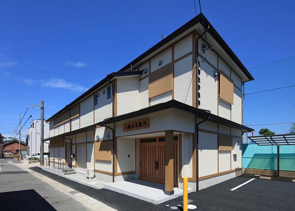 神社参集所の新築工事